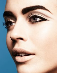 Bold brows AND liner #makeup