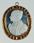Bottega French Bust of Catherine de 'Medici (Cameo)
