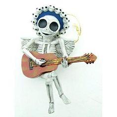 Skeleton for gothic yule decoration