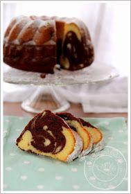 Nougat-Marmor-Kuchen