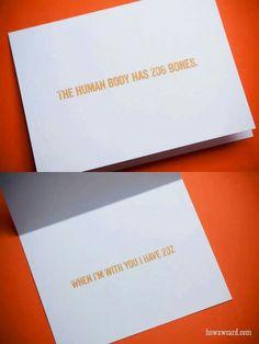 Romantic Valentine card