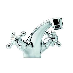 Tvättställsblandare Damixa Tradition Krom 110 mm - Tvättställsblandare