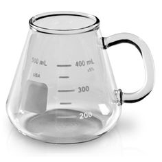 Erlenmeyer flask mug. SCIENCE.