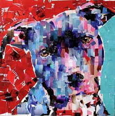 Samuel Price creator of My Dog Collage knows Dog Art