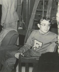 19-year-old James Dean at Santa Monica City College.