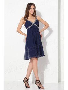 Fashion Sheath Column Spaghetti Strap Knee Length Chiffon Blue Cocktail Dress COZK13022   $89.99   Evening Dress, Evening Dress, Evening Dress, Evening Dress, Evening Dress, Evening Dress