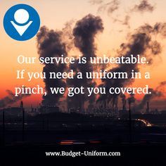Our #CustomerService is unbeatable. If you need a #uniform in a pinch, we got you covered. #Uniforms #Delivered