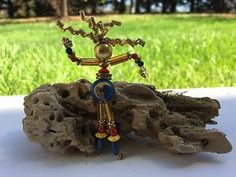Wire And Bead Dancing Woman Stick Pin  | eBay