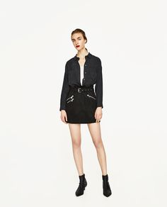 Image 1 of FLOWING SHIRT from Zara