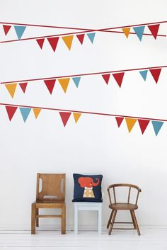 Ferm Living Shop — Flags Wall Sticker