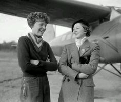 Amelia and Myrna Loy