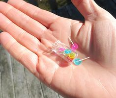 Absolutely Enormous Lollipops | 30 Itty-Bitty Foods That Look Good Enough To Eat