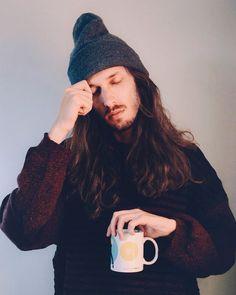 Touca, café e sono zZz  Bom dia