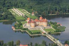 Schloss Moritzburg - Luftaufnahme