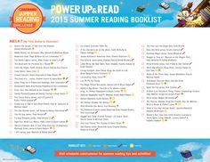 2015 Summer Reading Challenge Booklist - Ages 6-7. #summerreading