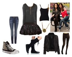 Designer Clothes, Shoes & Bags for Women Icarly And Victorious, Rock Style, My Style, Tori Vega, Jade West, Hat Hairstyles, Punk Fashion, American Apparel, Clothes For Women