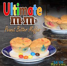 PB M&M Muffins