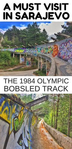 Sarajevo, Bosnia - If you are looking for fun things to do in Sarajevo, the Sarajevo bobsled track is certainly something different