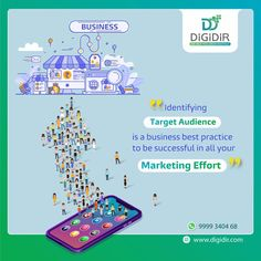 Knowing your target audience makes it easier to channel your advertising to the RIGHT POTENTIAL CUSTOMERS. Are you facing a hard time identifying and advertising to your target market? We can help you do that by our Digital Marketing Strategies!!! Connect 📞 with us today @ info@digidir.com 📧 or +91 - 9999340368 😎😎 Digital Marketing Strategy, Marketing Strategies, Social Media Marketing, Target Audience, Knowing You, Connect, Channel, Advertising, Success