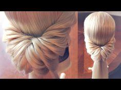 Причёска на основе хвостиков - Hairstyles by REM - YouTube
