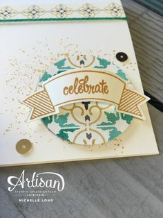 Hello, friends, and welcome to another Stampin' up! Artisan Design Team blog hop! Whether you just came from my dear friend Marisa, or this is your fist stop, I hope you will be sure to visit…