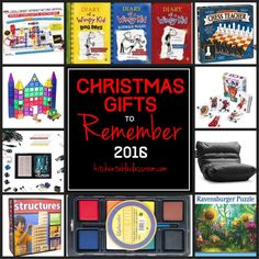 Christmas Gifts To Remember 2016