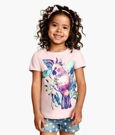 H&M Top with Printed Design $4.95