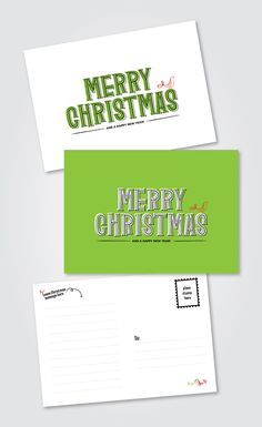 Font Friday: Skunkling - free christmas cards.