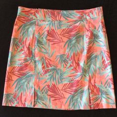 """Columbia Weathered Twill Mini, size 16 NWOT Columbia River Resort line, soft, thin weathered twill skirt. 2 kick pleats in front, off center zipper in back (on one of the back seams). 18.75"""" across front waist, 21"""" length. Pretty and comfy! NWOT. Columbia Skirts Mini"""