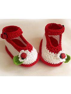 Cute Crochet Baby Shoes