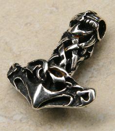 Thors Hammer Silber Schmuck Anhänger Kette Silberschmuck Cufflinks, Rings For Men, Accessories, Jewelry, Archaeological Finds, Amulets, Ear Jewelry, Brooch, Braid