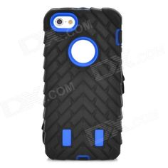 Brand: N/A; Quantity: 1 Piece; Color: White; Material: Silicone + PC; Compatible Models: Iphone 5 / 5s; Other Features: Fashionable and unique; Protects your devices from scratches shock and dust; Allows access to all interfaces w/o removing the case; Convenient to use; Packing List: 1 x Case; http://j.mp/1uOyCpy