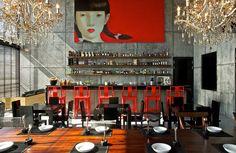 Drink Gallery - Find The Best Restaurants in Koh Samui. Explore the flavors of modern food in Chaweng Beach Design Hotel, Lounge Design, Restaurant Interior Design, Unique Restaurants, Unique Hotels, Beautiful Hotels, Restaurant Hotel, Chinese Restaurant, Restaurant Ideas