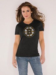 Bruins Tri-Blend V Neck T.  @Touch by Alyssa Milano.