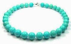 Great Turquoise faceted beads Clater Jewelers Westport Village 1201 Herr Lane, Suite 170 Louisville, Kentucky 40222 502-426-0077 www.claterjewelers.com
