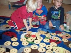 HAPPY HEARTS & BUSY HANDS PRESCHOOL: FUN GAMES!!! At circle time!