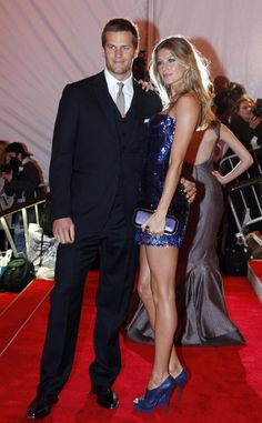 Gisele Bündchen - the ultimate fan with her husband, Patriots QB Tom Brady.