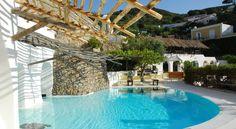 Grand Hotel Santa Domitilla , Ponza, Italy - close to beach. cool cave pool. ok rooms. $400-$500/nt.