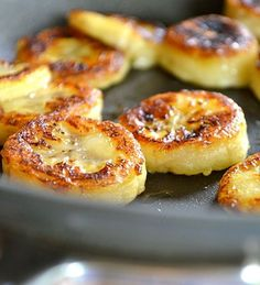 Healthy Baked Bananas
