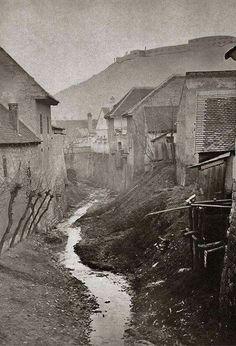 1870 körül. I. kerület. Ördögárok.