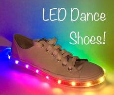 So you've seen shoes with LED lights. But have you seen ones that change color? Maybe. How about ones that are fully programmable, packed with a micro sized Arduino Gemma, a rechargeable lithium battery, and on top of that, they have pressure sensors in the soles of the shoes. This instructable will show you how I turned a pair of canvas sneakers into dancing shoes!