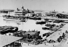 02_Port Said - Suez Canal Entrance, 1880s | Flickr - Photo Sharing!