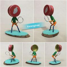 테니스 #병뚜껑공예 #병뚜껑아트 #뚜껑맨 #BottleCapArt #BottleCapCrafts #瓶盖艺术 #瓶盖人 #ビンの栓芸術 #피규어 #Figure #フィギュア #人偶 #手办 #미니어쳐 #Miniature #小模型 #ミニアチュア #테니스 #Tennis #网球 #テニス #