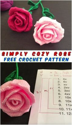 This project belongs to very easy, slowly step by step with written instructions you will crochet your own cozy rose. Simply way with crochet free pattern and Crochet Motif, Crochet Yarn, Easy Crochet, Crochet Patterns, Poncho Patterns, Crochet Pillow, Crochet Beanie, Crochet Shawl, Crotchet