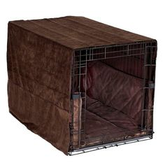 Pet Dreams Plush Cratewear Set, Coco Brown, Fits 42-Inch Crates, 3-Piece - http://www.thepuppy.org/pet-dreams-plush-cratewear-set-coco-brown-fits-42-inch-crates-3-piece/