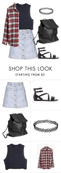 """Callie Fosters 4"" by thefashionguilty on Polyvore featuring moda, Topshop, Forever 21 y Madewell"