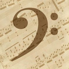 BG. Studio - Music - Bass Clef - art prints and posters