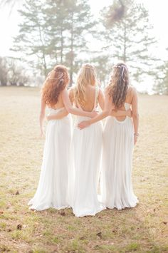 Design for the bridesmaids