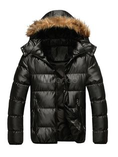 Quilted Jacket with Faux Fur Hood - Save Up to 70% Off on fabulous fashion trend products at Milano with Coupon and Promo Codes.