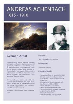 Andreas Achebach Info Sheet